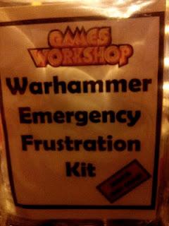 Kit antifrustración de Emergencia para Warhammer