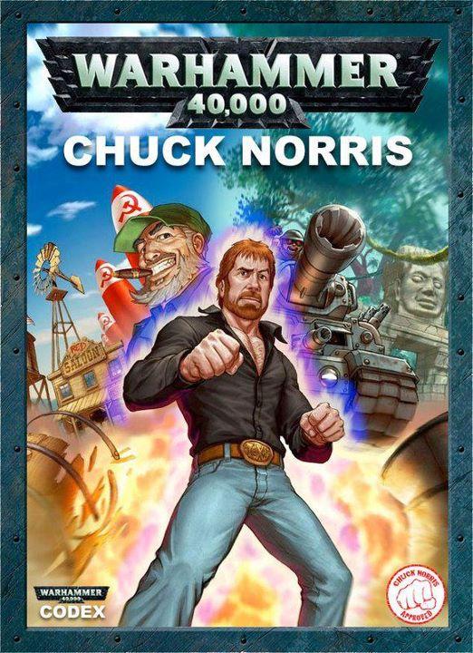 Codex Chuck Norris Warhammer 40.000