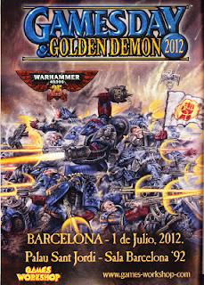 Cartel Promocional Games Day 2012
