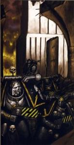 Guerreros de hierro en La Jaula de hierro