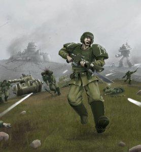 Guardia Imperial asaltando a la serpiente