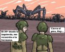 Guardias Imperiales aguantando la linea