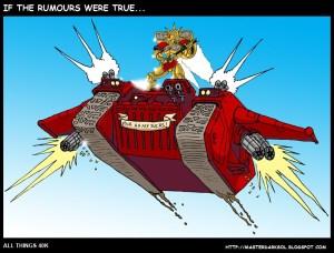 Landraider Volador