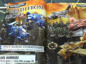 Stormtalon marine en la White Dwarf