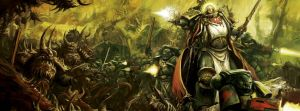 Warhammer 40000 Portada del reglamento 6edición