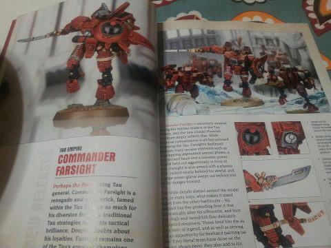 nuevo comandante tau