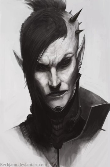 bruja eldar oscuro